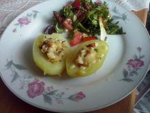 Ziemniaki z farszem z suszonych pomidorów