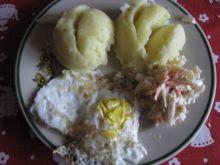 Ziemniaki z jajem sadzonym