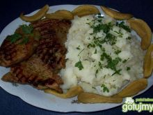 Ziemniaki z karkówką z grilla