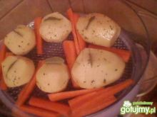 ziemniaki z listkiem laurowym
