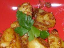 Ziemniaki z marynatą sojową .