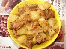 Ziemniaki z mięsem