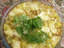 Ziemniaki z mozzarellą
