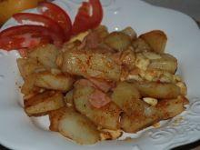 Ziemniaki z oscypkiem i mielonką