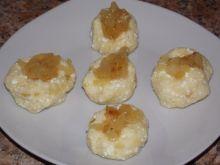 Ziemniaki z serem i cebulą