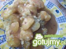 Ziemniaki z sosem pieczeniowym