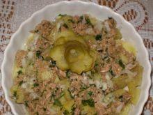 Ziemniaki z tuńczykiem- sałatka leniwca