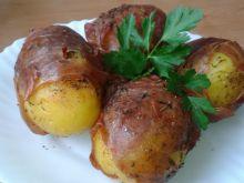 Ziemniaki zapiekane w boczku