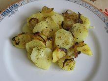Ziemniaki zapiekane z cebulką