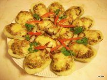 Ziemniaki zapiekane z grzybami