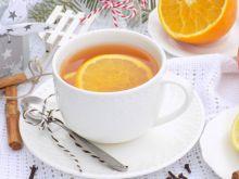 Zimowa herbata z cynamonem i cytrusową nutką