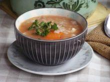 Zimowa zupa gołąbkowa