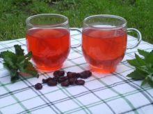 Ziołowa ice tea z żurawiną