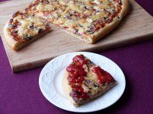 Ziołowa pizza podwójnie serowa