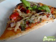 Ziołowa pizza z salami Zub3r'a