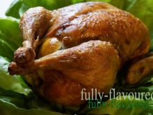Ziołowy kurczak z cytryną i cieciorką