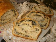 Ziolowy nadziewany chlebek