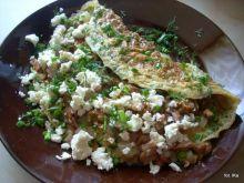 Ziołowy omlet z kurkami i nie tylko