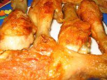 Złociste pałki z kurczaka