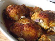 Złocisty kurczak z czosnkiem