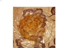 Żołądki drobiowe w paprykowej cebulce