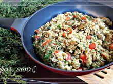 Żołądki z kurczaka w duecie z ryżem