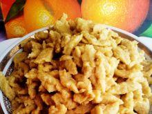 Żółciutkie kluski ziemniaczane z batatem