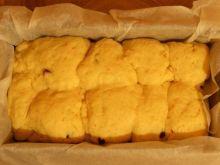 Żółte ciasto