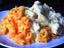 Żółte żarcie czyli indyk z curry.