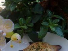 Żółwiki serowe z nutą ziół i czosnku