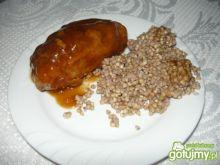Zrazy cielęce zawijane w sosie pieczenio