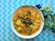 Zupa brokułowa z dynią