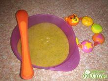 Zupa brokułowa z glutenem dla niemowlaka