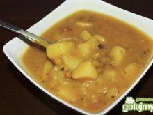 Zupa brokułowa z groszkiem