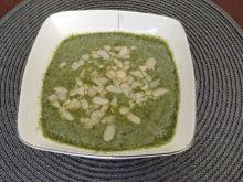 Zupa brokułowo - pieczarkowa