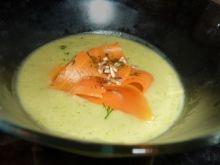 Zupa brokułowo-porowa