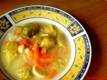 Zupa brukselkowa wegetariańska