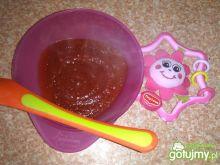 Zupa buraczkowa dla niemowlaka