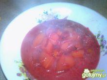Zupa buraczkowa z rosołku