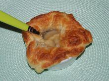 Zupa cebulowa pod pierzynką