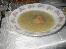 Zupa cebulowa  szybka - także na Wigilię