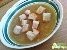Zupa cebulowa z grzankami wg Triss