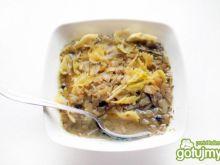Zupa cebulowa z makaronem doroty