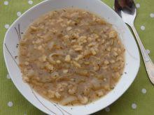 Zupa cebulowa z tartymi kluseczkami