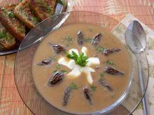 Zupa cebulowa ze smardzami
