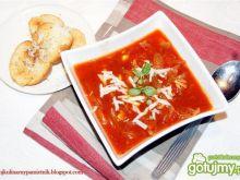 Zupa cebulowo-pomidorowa z pazurem