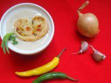 Zupa cebulowo-serowa