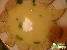 Zupa cebulowo- ziemniaczana