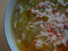 Zupa chińska ala krabowa wg Królika
