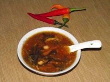 Zupa chińska ostro-słodka